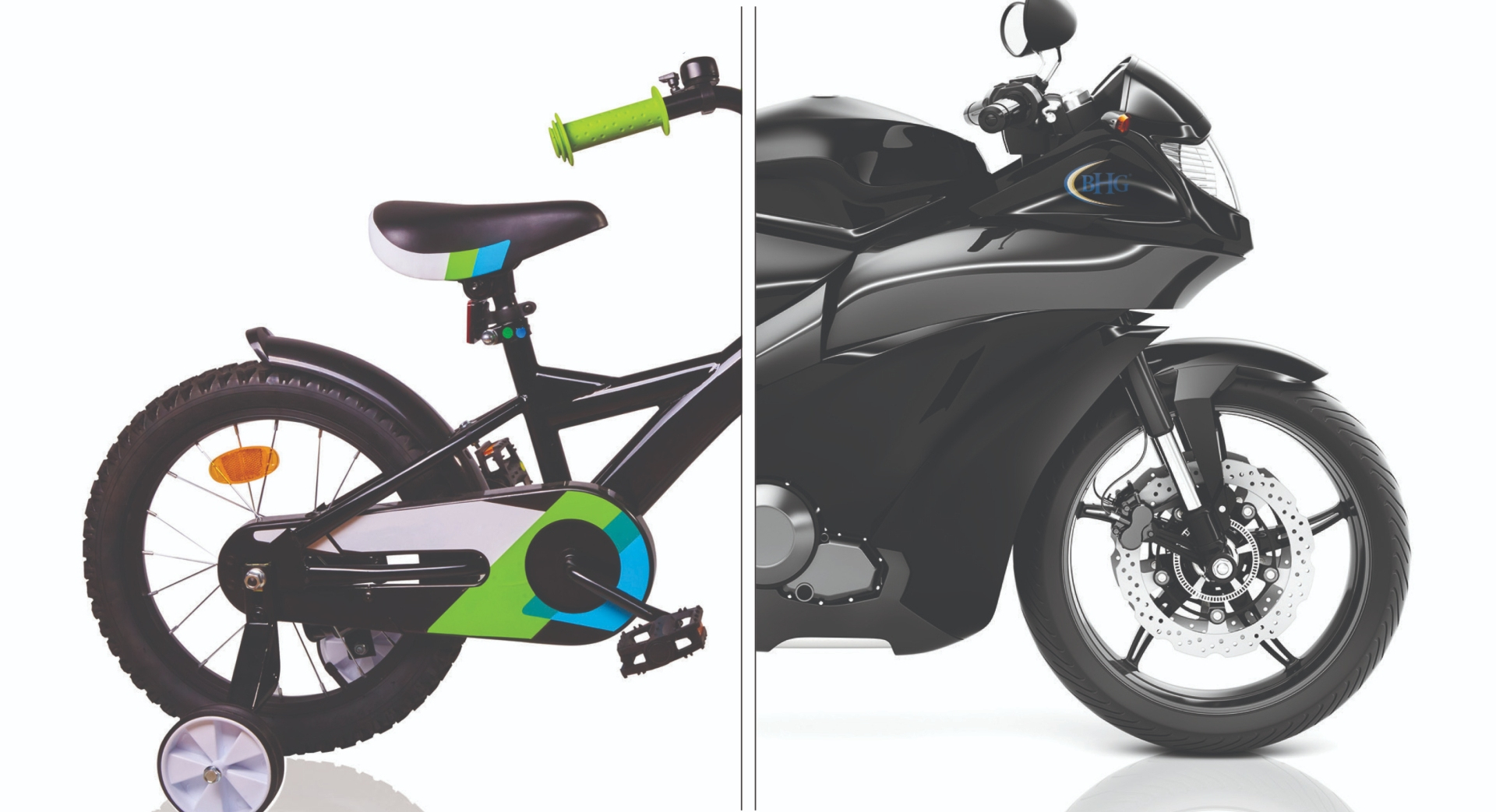 BHG Transformations Bike and Motorcycle